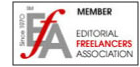 member of the  editorial freelancers association